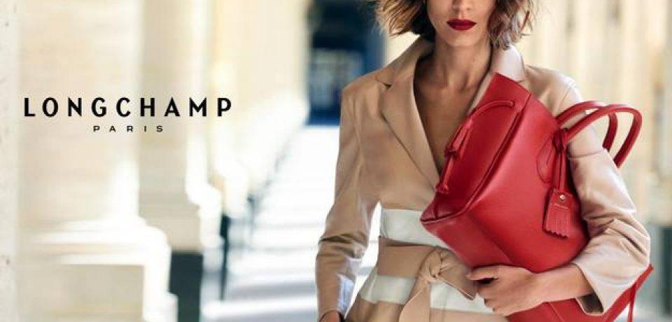 Алекса Чанг в рекламной кампании Longchamp весна-лето 2016