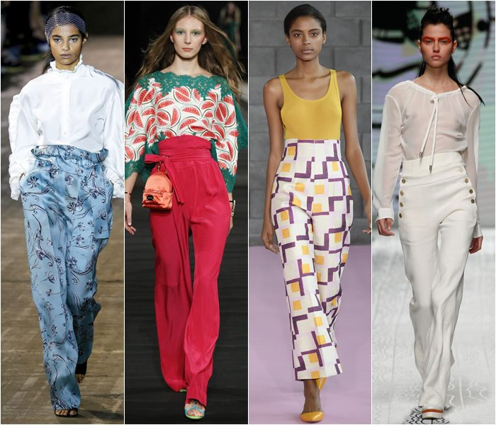 Модные брюки весна-лето 2016 (1)