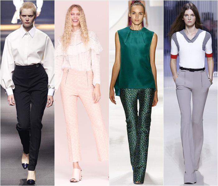Модные брюки весна-лето 2016 (10)
