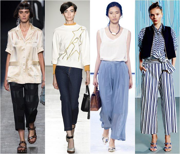 Модные брюки весна-лето 2016 (16)