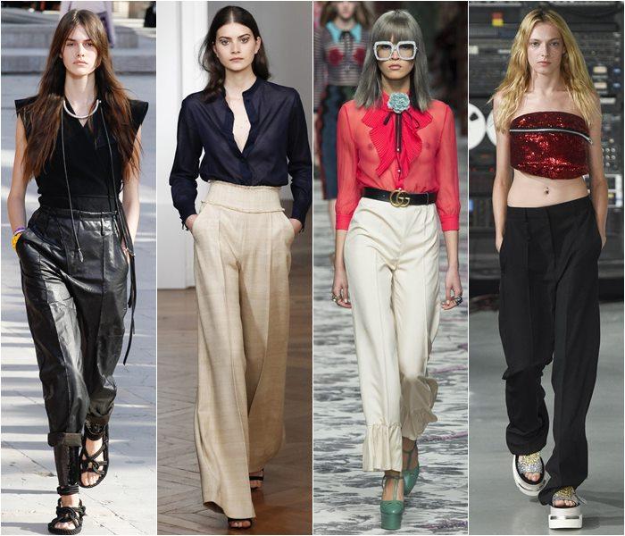 Модные брюки весна-лето 2016 (19)