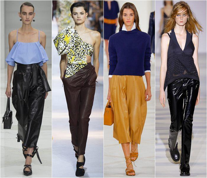 Модные брюки весна-лето 2016 (4)