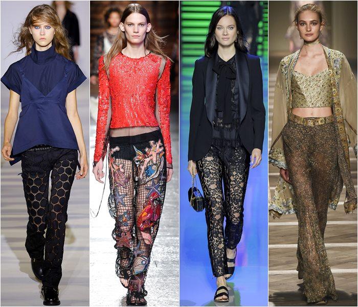 Модные брюки весна-лето 2016 (5)