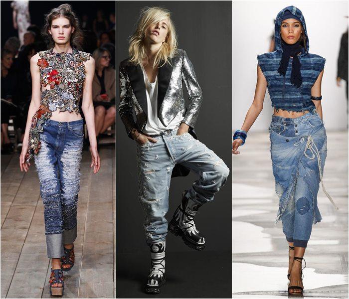 Модные джинсы весна-лето 2016 (2)