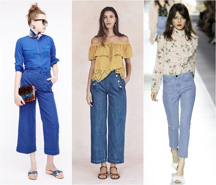 Модные джинсы весна-лето 2016 (6)