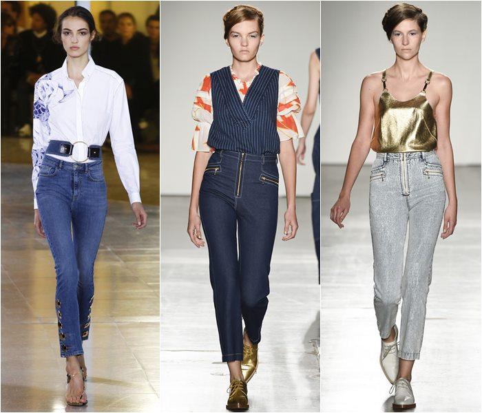 Модные джинсы весна-лето 2016 (7)
