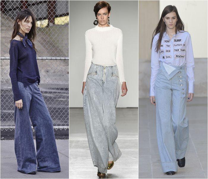 Модные джинсы весна-лето 2016 (9)