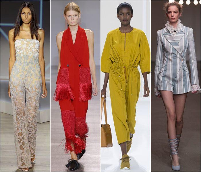 Модные комбинезоны весна-лето 2016 - главное фото