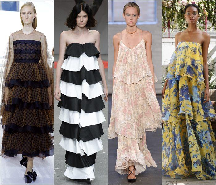 Модные платья весна-лето 2016 фото  (16)