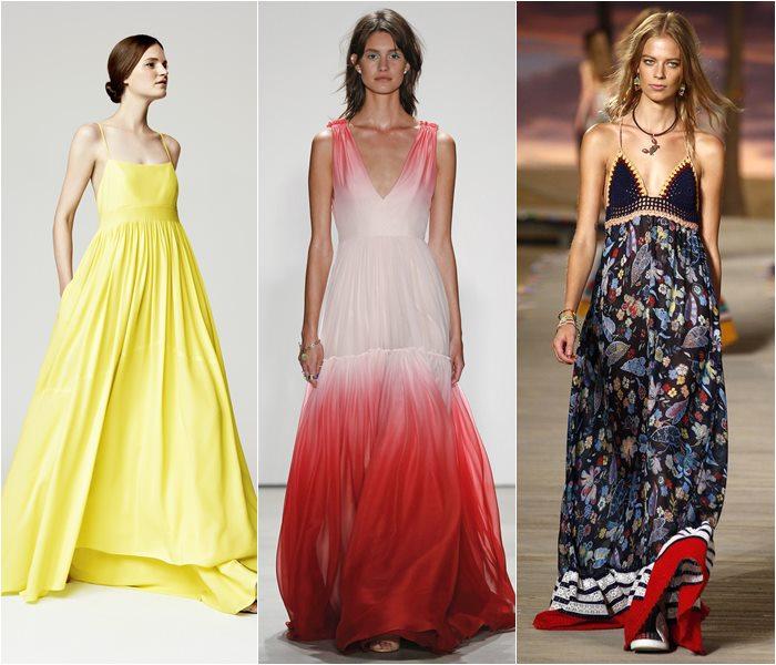 Модные платья весна-лето 2016 фото  (18)