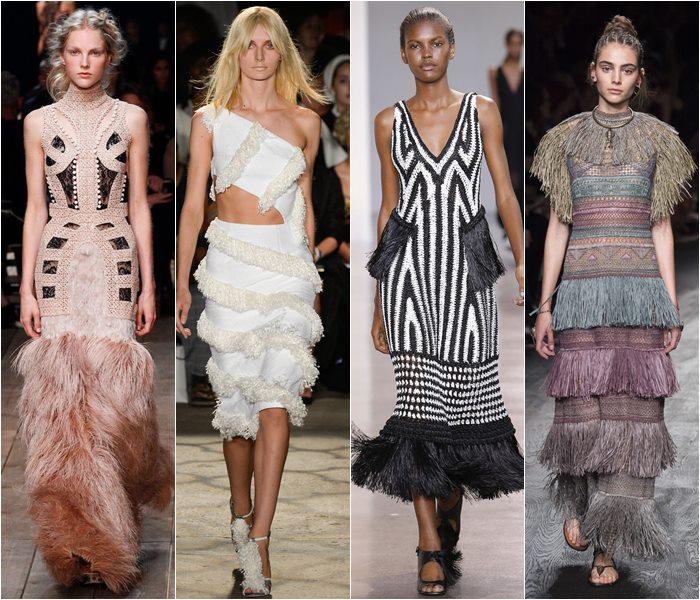 Модные платья весна-лето 2016 фото  (3)
