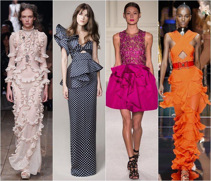Модные платья весна-лето 2016 фото  (7)