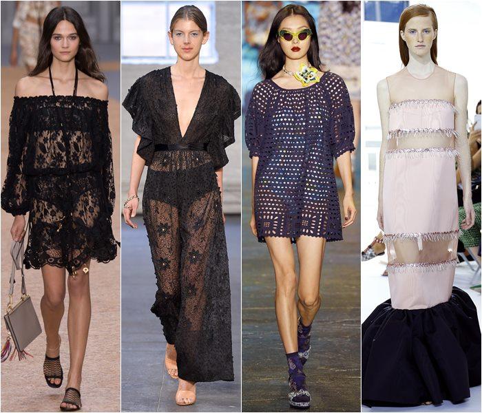 Модные платья весна-лето 2016 фото  (8)