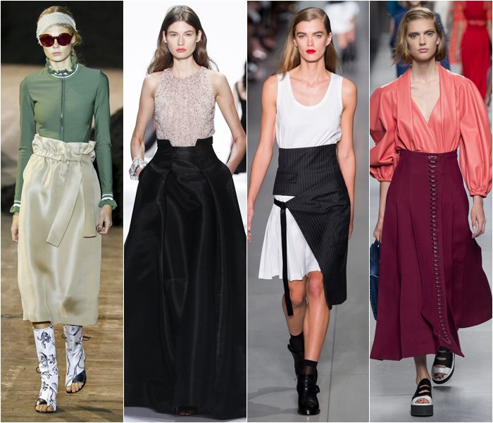 Модные юбки весна-лето 2016 - фото   (1)