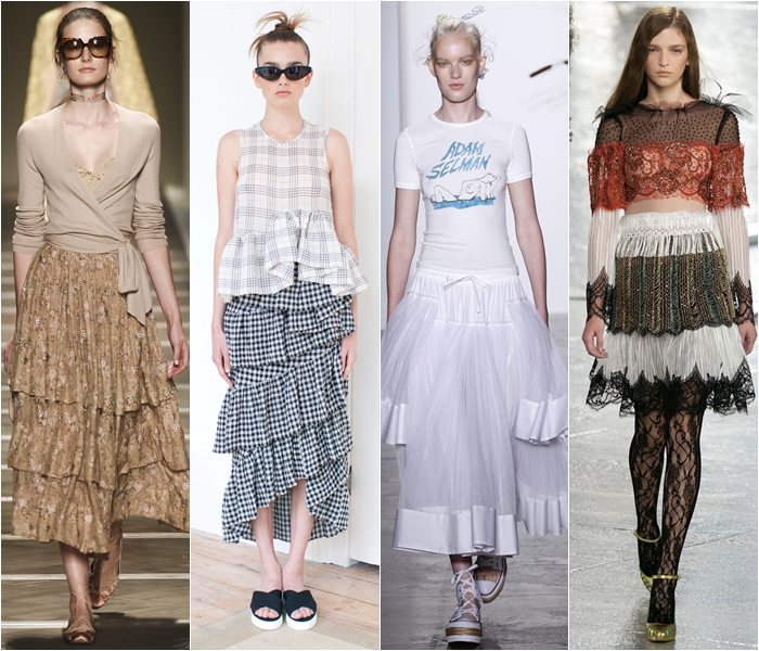 Модные юбки весна-лето 2016 - фото   (11)