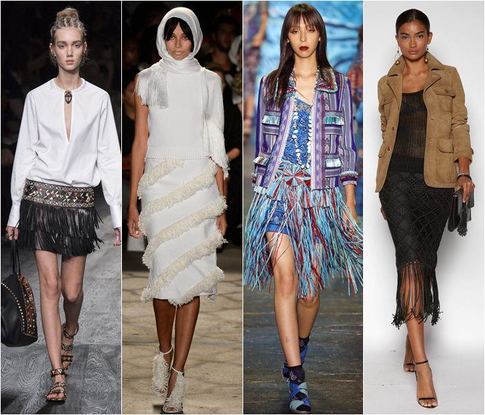 Модные юбки весна-лето 2016 - фото   (15)