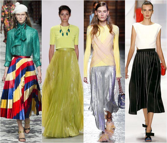 Модные юбки весна-лето 2016 - фото   (16)