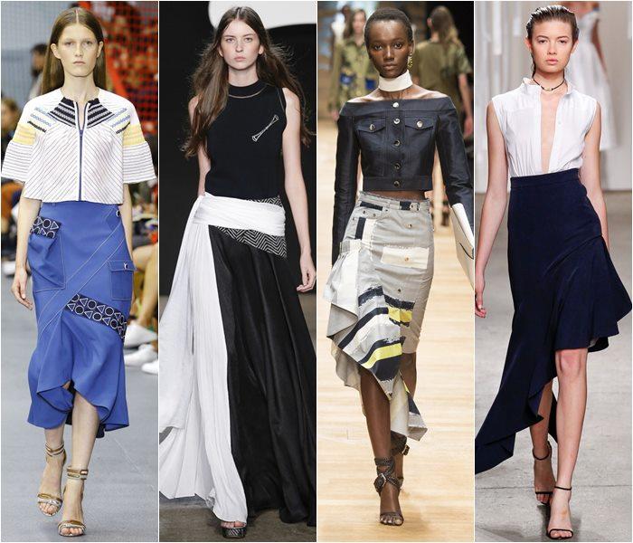 Модные юбки весна-лето 2016 - фото   (2)