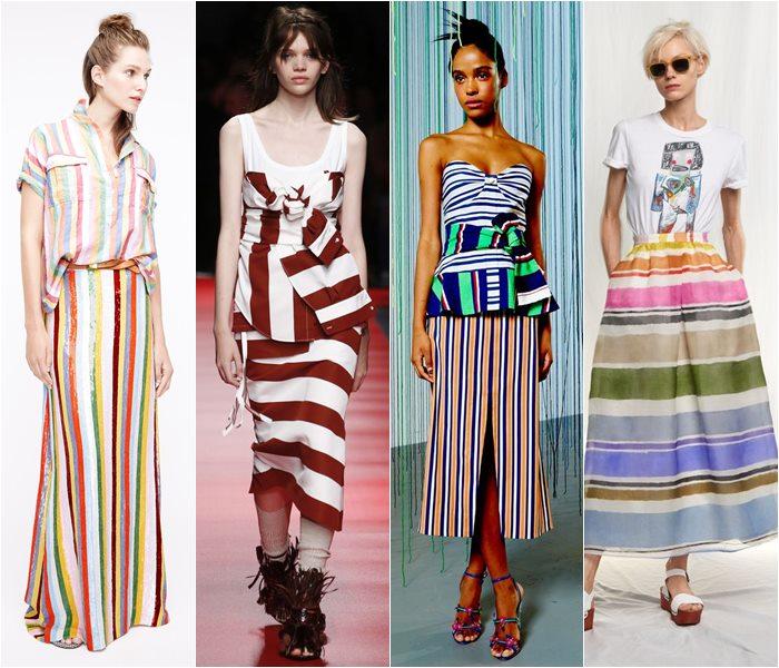 Модные юбки весна-лето 2016 - фото   (22)