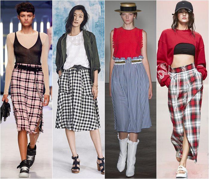 Модные юбки весна-лето 2016 - фото   (23)