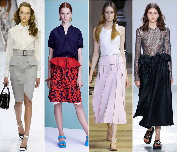 Модные юбки весна-лето 2016 - фото   (24)