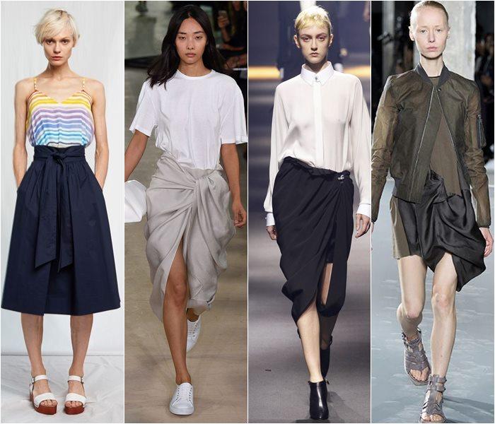 Модные юбки весна-лето 2016 - фото   (25)