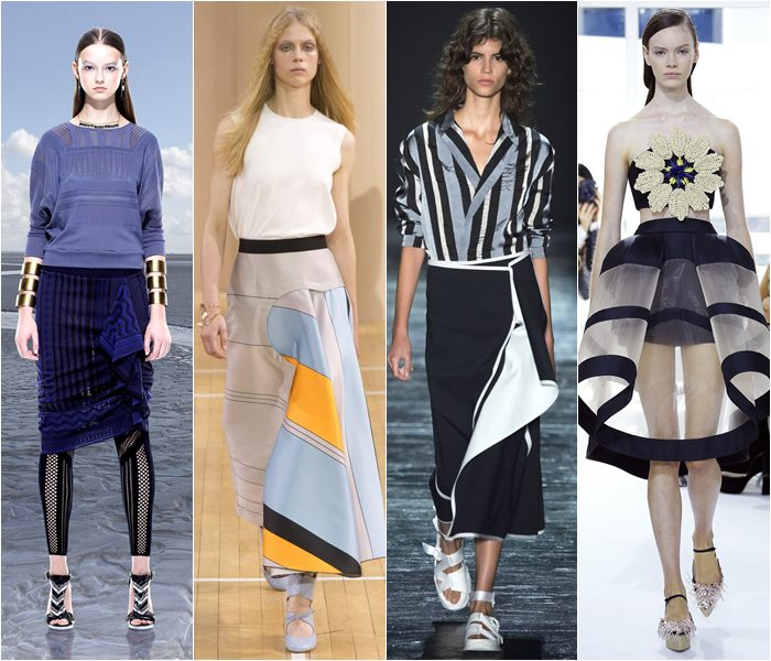 Модные юбки весна-лето 2016 - фото   (8)