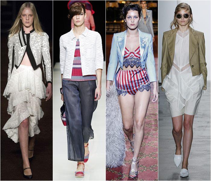 Модные жакеты и пиджаки весна-лето 2016 (1)