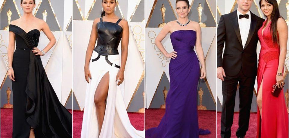 «Оскар» 2016: стильные образы в Atelier Versace