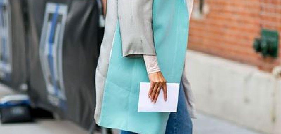 Укороченные джинсы: уличный стиль Нью-Йоркской Недели Моды осень-зима 2016-2017