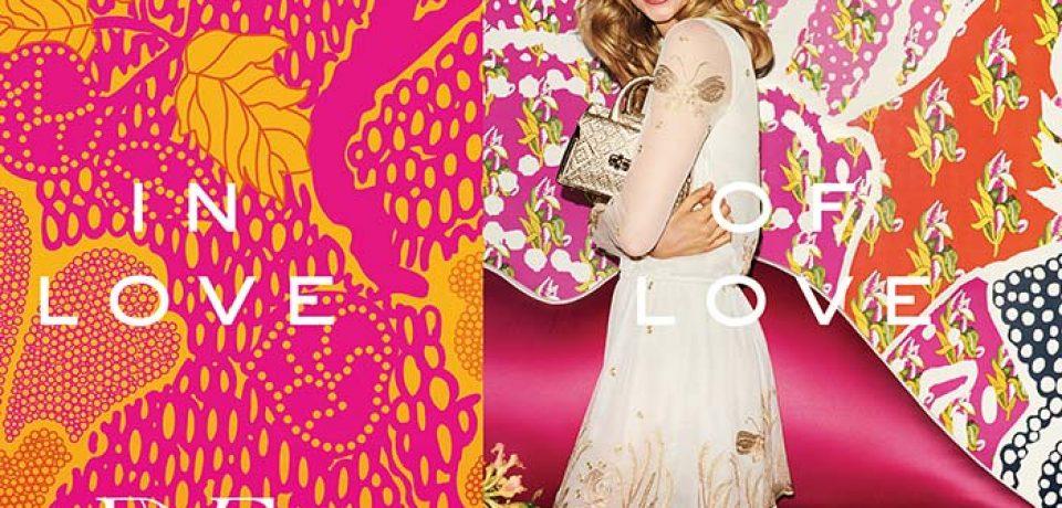 Карли Клосс в рекламной кампании Diane von Furstenberg весна-лето 2016
