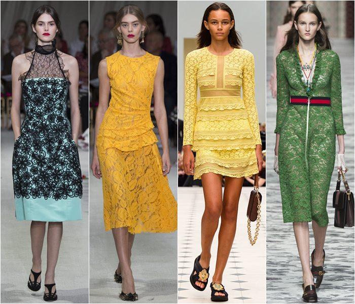 Коктейльные платья весна-лето 2016 фото (2)