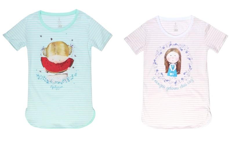 Коллекция домашней одежды от «ТВОЕ» и Евгении Гапчинской  (1)