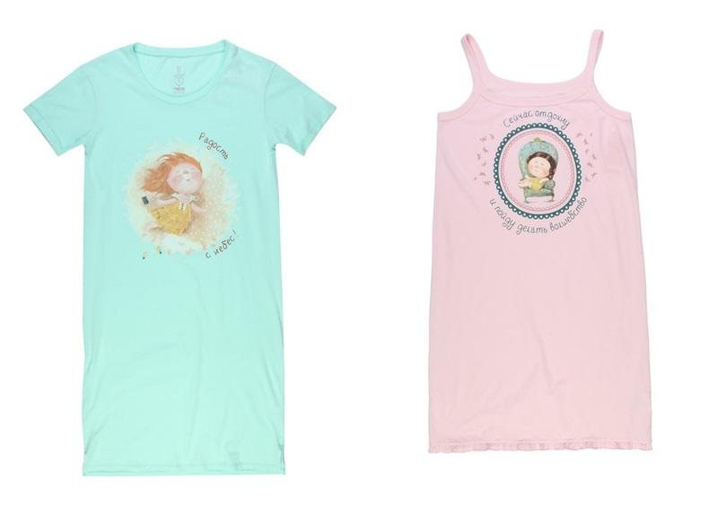 Коллекция домашней одежды от «ТВОЕ» и Евгении Гапчинской  (2)