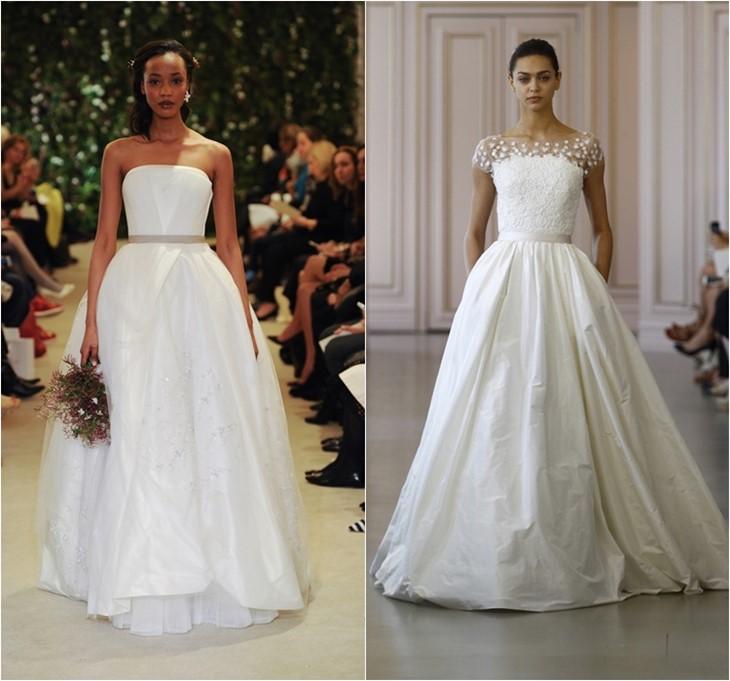 Свадебные платья 2016 фото (16)