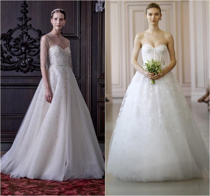 Свадебные платья 2016 фото (18)