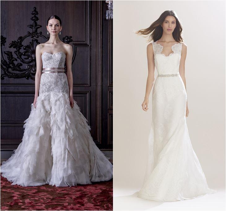 Свадебные платья 2016 фото (28)