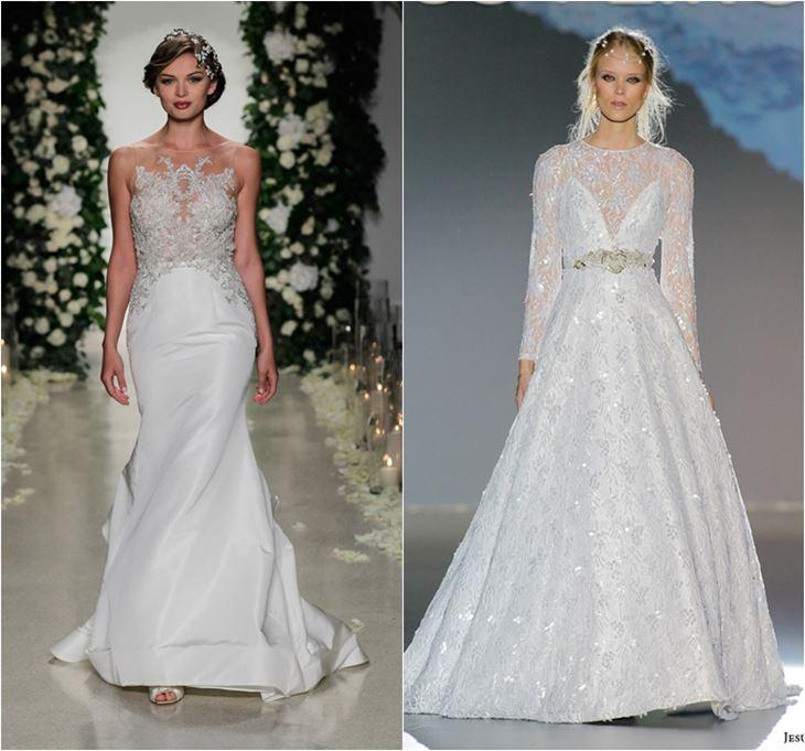 Модные свадебные платья 2016 – 112 фото новинок