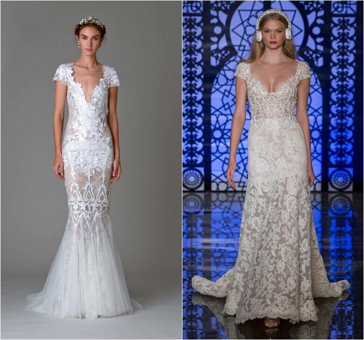 Свадебные платья 2016 фото (6)
