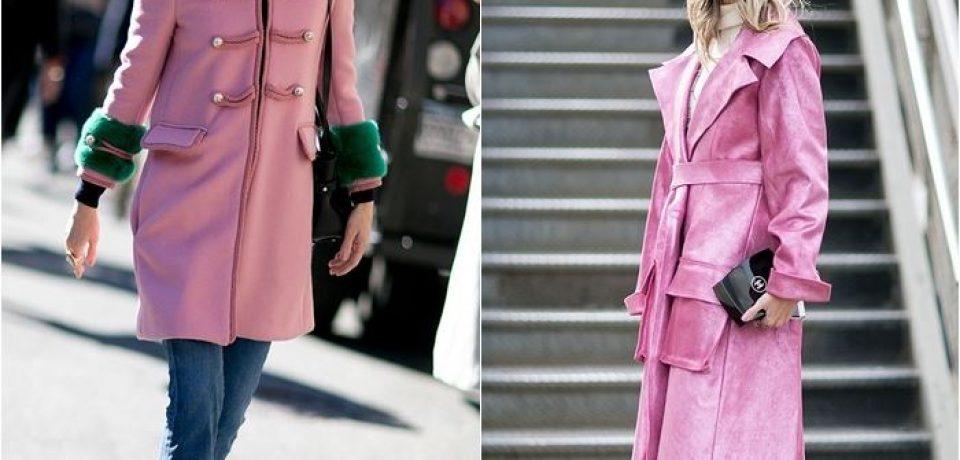 Как носить джинсы с пальто: уличный стиль Недели Моды в Нью-Йорке осень-зима 2016-2017