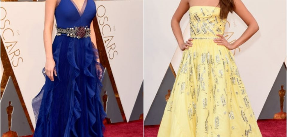«Оскар»-2016: лучшие вечерние платья знаменитостей на красной дорожке