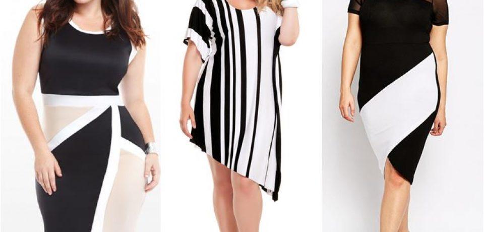 Модные платья для полных женщин 2016