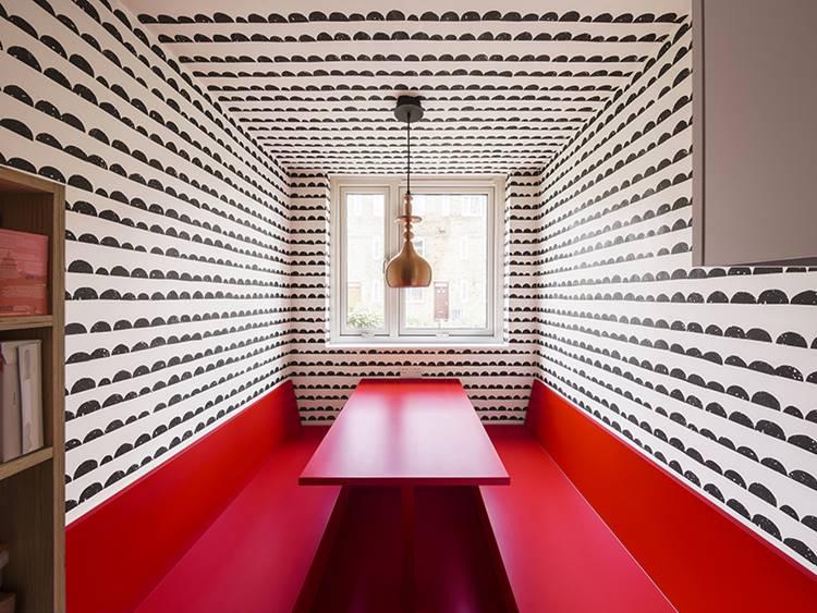 Дизайн интерьера маленькой квартиры в Лондоне (1)