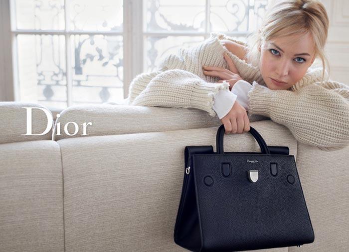 Дженнифер Лоуренс реклама сумок Dior весна-2016 (3)