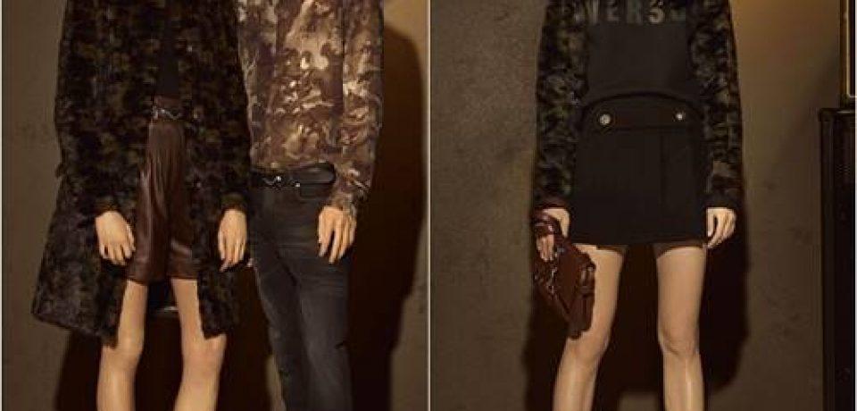 Лукбук коллекции Versus Versace осень-зима 2016-2017