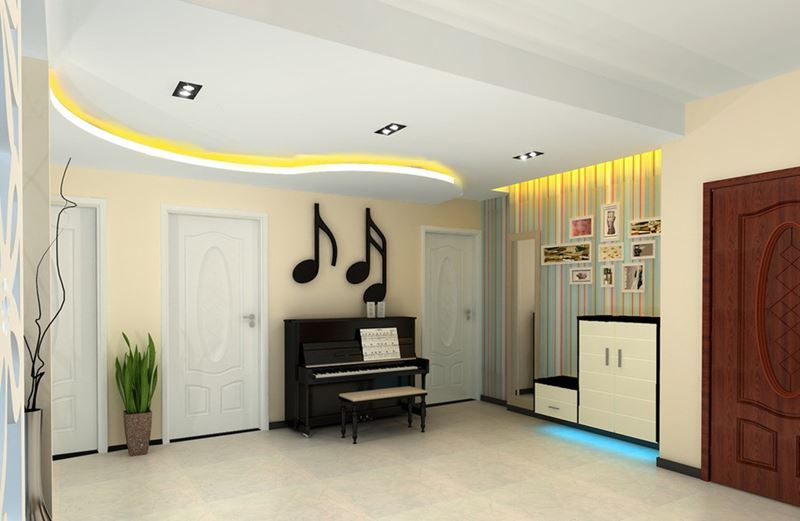 Пианино и рояль в дизайне интерьера фото 5