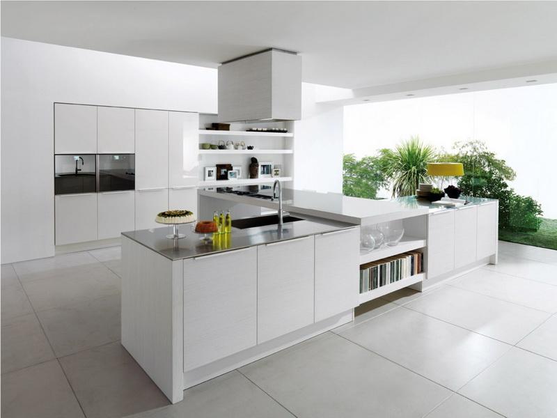Белый цвет в интерьере кухни, фото 16