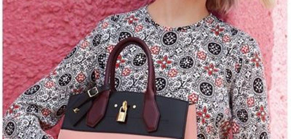Леа Сейду в рекламной кампании аксессуаров Louis Vuitton