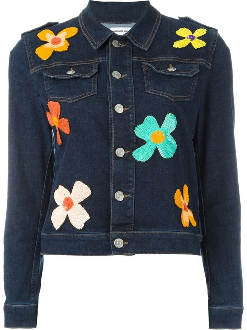Джинсовые куртки и жакеты 2016 Au Jour le Jour