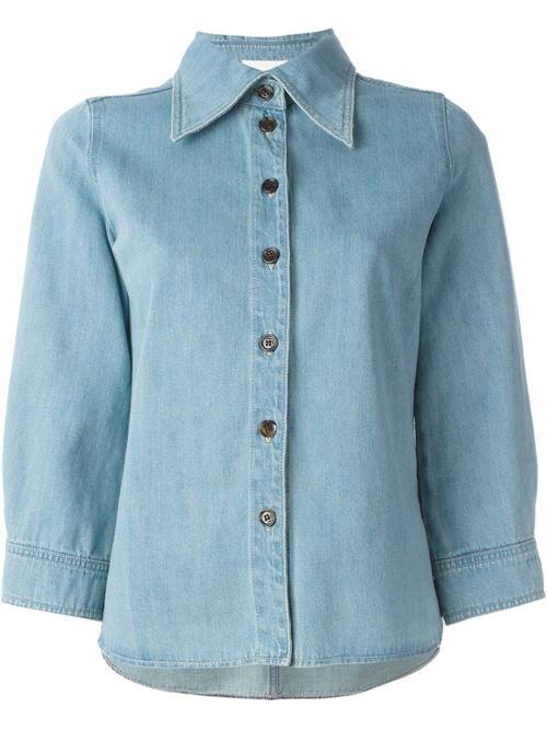 Женские джинсовые рубашки 2016 Chloe